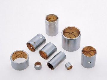 China SAE799 Steel Bushes | CuPb24Sn4 Material JF-720 Bimetal Bearing Bushes - Plain Bush Bearing factory