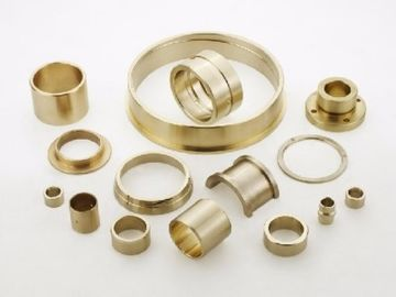 Oil Grooved Cast Bronze Bushings , Self Lubricating Bearing Corrosion Resistance