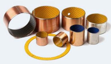 SS316 + Bronze + PTFE Bronze Bushing Material Sliding Bearings Corrosion Resistance supplier