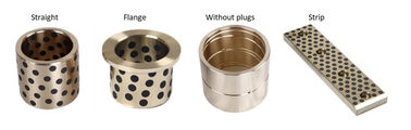 Cast Bronze Sleeve Bushing Replacement Aluminum Bronze Self Lube Bearings supplier