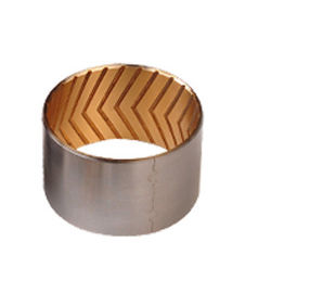Oil Grooves For Bimetal Bushings Custom Steel Bronze Bushes Alloy Bimetal Strip supplier