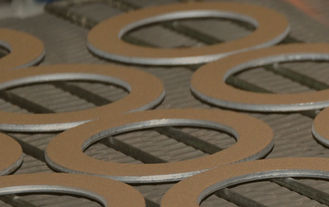 Metal - Polymer Bronze Thrust Plate PTFE Washer Excellent Heat Dissipation supplier