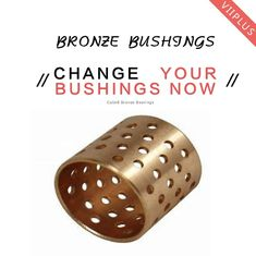 China Oil Lubrication CuSn6 Wrapped Bearings , 09G Bronze Graphite Bushings VSB-22 factory