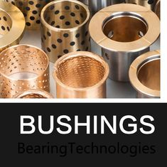 Inch Size Bronze Graphite Plugged Bushings Self - Lubricating Bearings