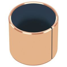 Pump Bronze Shaft Slit Bushings DIN1494 / ISO3547 Flange Bearings supplier