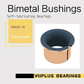 China Bi-metal Bulldozers Driven wheel & supporting Bush Standard Size plain bearings | DEVA-BM olies bearing sliding bearing factory