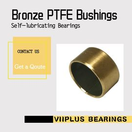 Steel Backed Ptfe Lined Bushing Inch Sleeve Bushings Composite 1/4 Id 5/16 Od  3/8