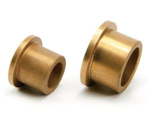 Gold Color Sintered Bronze Bush SAE 841 Bronze 663 CuSn90-10 & Stainless Steel supplier