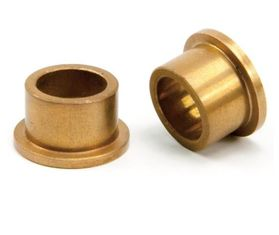 Sintered Bronze Oil Impregnated Self Lubricating Sleeve Bearings Good Corrosion Resistance supplier