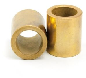 China A50 Sintered Bronze Sleeve Bushings Sint A50 A51 B50 Flange With Graphite factory