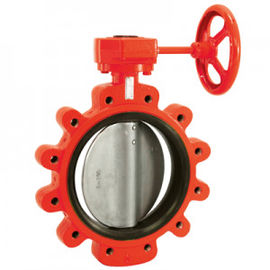 Fiberglass Or Type 316 Stainless Steel Bushings Butterfly Valves Series 761