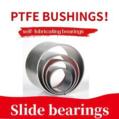 China Multi-layer bearings | Carbon - Based Polymer Plain Bearings Ptfe Teflon Bushing Steel Backing Bronze POM factory