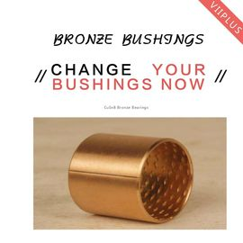 Cusn8 Standard Oil hole Material Thrust Washers & Strips | Bronze bushings for Lifting gear supplier