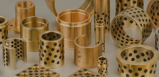 Copper Based Standard Self Lubricating Bushing For Plastic Mould &  Press Die Sliding Plate