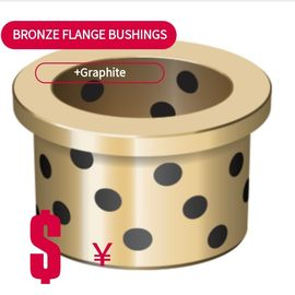 C86300 Bronze Bushing & Wear Plate Flanged Bronze Bushings High Temperature Resistance