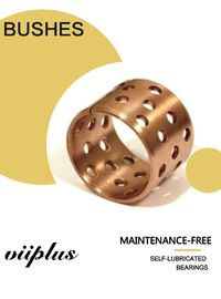 China FB090 & 092 Tin Bronze Slide Bearing Oilless Bronze Bushing with Holes Tolerance Shaft – Bearing factory