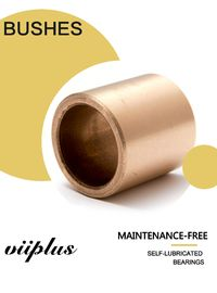 China SAE660 C93200 Turned Cast Bronze Cylindrical Bearings Flange Bushing With Lubrication Grooves factory