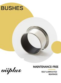 China Customized Bushes & Sliding Bearings Components for the most extreme high temperature pressure & corrosive factory