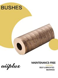 China Highest Strength C95400 Aluminum Bronze Bushing With Solid Lubricant Inc Sizes Sliding Bearings factory