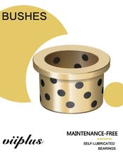 C93200 Tin Bronze Cast Bushings Self Lubricating Bearing Guide Plate for Mixers & Grinders supplier
