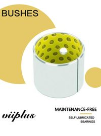 China Low - Maintenance Bronze Sleeve Bushings For Field Crop sprayers Steering Kingpin factory