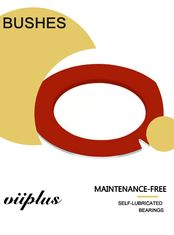 Red PTFE Inch Dimension Thrust Washer Bushings Metric Slding Bearings supplier