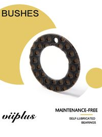 China High Load / Impact-Vibration Resistant / Composite  Inch Dimension, Thrust Washer Bushings factory