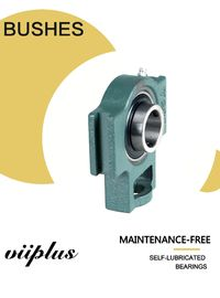 China Pilllow Block Sliding Bearing Spherical Bush Unit Oilless Slide Bushing Standard Components factory