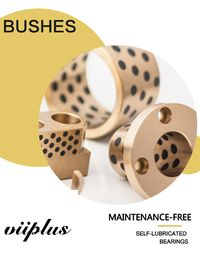 Graphite Impregnated Bronze Bushing | Oilless Bushes