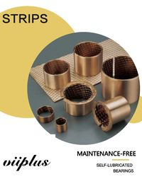 FB090 Bronze Material CuSn8P0.3 Or CuSn6.5P0. 1 Metric Bushings Sheet Strip