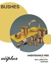 China Sliding Bushings Ploymer Plain Sleeve Bearing Strips Metal Polymer Bearings factory