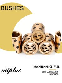 CuZn25Al6Fe3Mn4 Size 203030 Bronze Graphite Bushings Bronze Sleeve Bearings 20 ID X 30 OD X 30 supplier