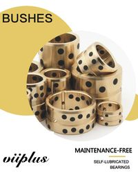 China C86300 Manganese Bronze Graphite Oilless Standard Bronze Bushing Component factory