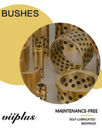 Wear Resistance Graphite Plugged Bronze Bearings Thrust Wheel Bushings supplier