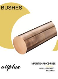 Press Die Sleeve Bushes C95400 Aluminum Bronze Bushing Oilless Sliding Cast Bronze Bushings