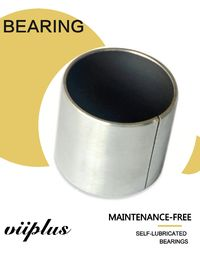 China Garlock Bearing Metal - Polymer Plain Bearings | Cylindrical Thrust Bushing Tin / Copper Plating factory