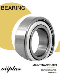 S6304ZZC4 Stainless Steel Ball Bearings 20x52x15 Single Row Deep Groove Ball Bearing