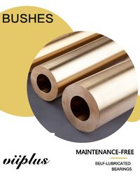 China Cast Bronze Bushes Material Self Lubricating Bronze Bushings / Bearing Low - Maintenance factory