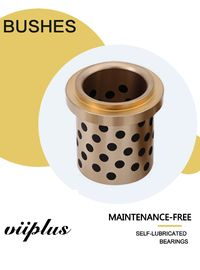 China CuZn25AI5Mn4Fe3 Graphite Plugged Bronze Bushings For Mine Exploiting Equipments factory