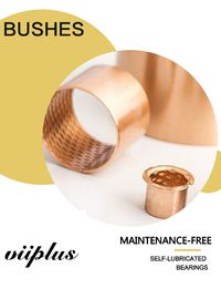 China Diamond Oil Hole Wrapped Bronze Sleeve Bushings CuSn8 Stock Size Tolerance for MINING factory