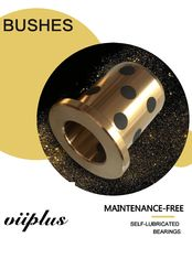 China Cast Bronze Bushings Solid Lubricant Bearings Hydraulic Equipment Components For Cylinders factory
