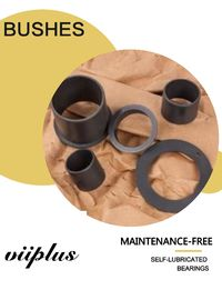 Plastic Flanged Bushings Wholesale, Flanged Bushings -Nylon Bushing Wholesale Plastic plain bearings | Plastic bushings
