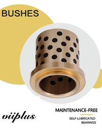 China Self Lube Graphite Plugged Bronze Bushings Plate Shape ISO 9001 Approved factory