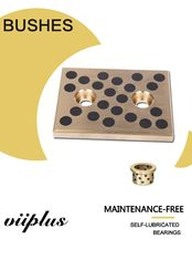 Precision Mold & Die Bushing & Wear Plate Rugged Aluminum Bronze For Metal Stamping & Plastic Injection Mold