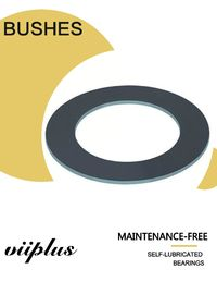 Stable Shape Dimensions Thrust Washers Gasket, Heavy Duty Half Shell Bearing Din 1494
