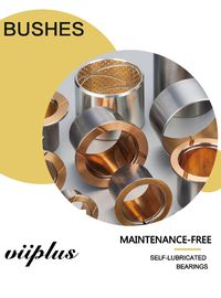 Bi-Metal Copper Flanged Sleeve Bearings & Washer Standard Inch Size Plain Bearings Oil Groove supplier