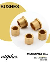 China Oilless Lubrication Cast Bronze Bushings Sleeve & Sintered Brass Bushing factory