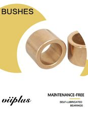 China CuSn10 & CuSn6Pb6Zn3(Qsn6-6-3) Sintered Flange Shape Blower Fan Cast Bronze Bushings SAE 841 630 663 Bronze factory
