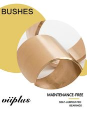 High Load Capacity Oilite Bronze Bushings For Powder Metallurgy Parts