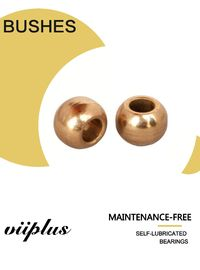 High Accuracy Sintered Bronze Bush Bronze Spherical Bearing ISO 9001 Approved supplier